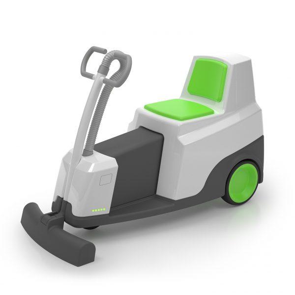 Machine de nettoyage des sols